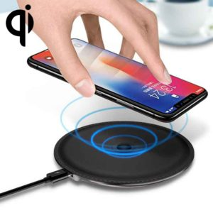 TOTUDESIGN CACW-019 UFO Series Wireless Charger Pad, For iPhone, Galaxy, Huawei, Xiaomi, LG, HTC and Other Smart Phones(Tarnish) (TOTUDESIGN)