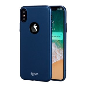 Lenuo for iPhone X / XS PC Ultra-thin Impact Protection Case (Blue) (lenuo)
