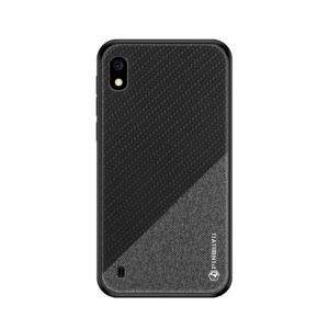PINWUYO Honors Series Shockproof PC + TPU Protective Case for Galaxy A10(Black) (PINWUYO)