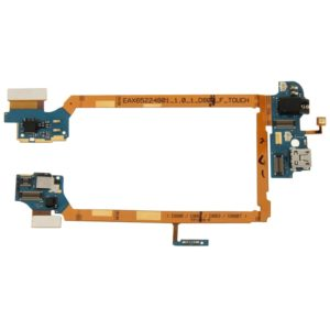 Charging Port Flex Cable Ribbon with Earphone Jack for LG G2 / D800