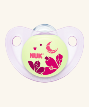 Πιπίλα NUK Trendline Night & Day Silic 6-18m Pink