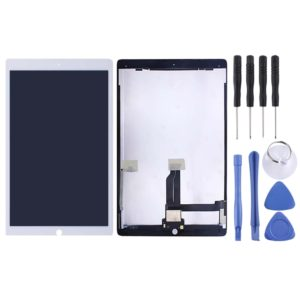 LCD Screen and Digitizer Full Assembly with Board for iPad Pro 12.9 inch A1584 A1652 (2015)(White)
