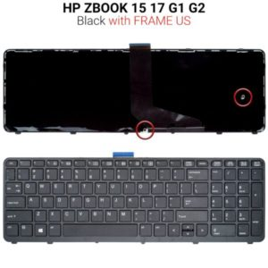 Πληκτρολόγιο HP ZBOOK 15 17 G1 G2 WITH BACKLIGHT