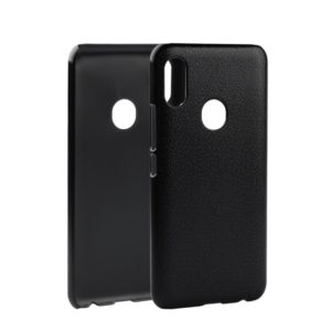 Litchi Texture PC Back Case for UMIDIGI F1 (Grey)
