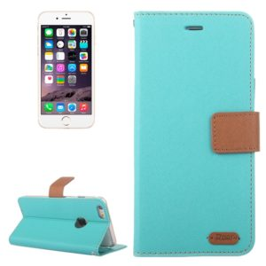 Roar Stripe Texture Leather Case with Holder & Card Slot & Wallet for iPhone 6 & 6S(Blue)