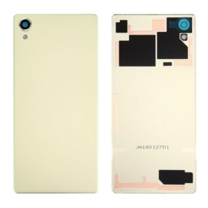 Back Battery Cover for Sony Xperia X (Lime Gold)