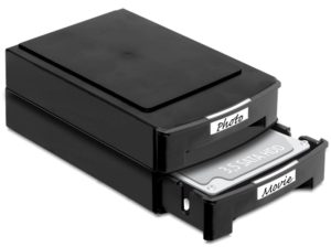 Delock 2xStorage Boxes for 3.5 HDDs stackable (61970)