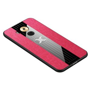 For Huawei Mate 8 XINLI Stitching Cloth Textue Shockproof TPU Protective Case(Red) (XINLI)