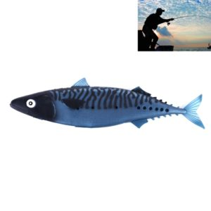 HENGJIA SO301 29cm 65g Ocean Boat Fishing Tuna Lure 28cm Soft Fish Long Shot Fishing Gear Lure Empty Stomach Bait Fishing Tackle (B) (HENGJIA)