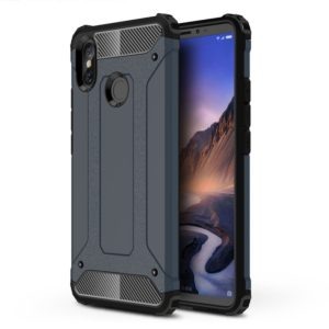 Magic Armor TPU + PC Combination Case for Xiaomi Mi Max 3 (Navy Blue)