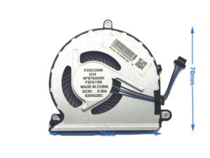 Ανεμιστηράκι Laptop - CPU Cooling Fan HP Pavilion 15-AU 15-AU010WM 15-au000 15-AU030WM 15-AU 15-AU020WM 856359-001 859635-001 856359-001 15-aw006nv (Κωδ. 80352)