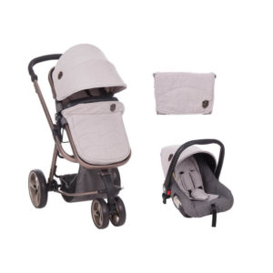 Πολυκαρότσι Kikka boo Amica 3 in 1 Grey