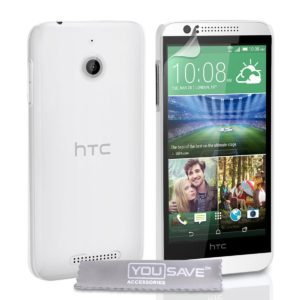 YouSave Accessories Θήκη για HTC Desire 510 by YouSave διάφανη και screen protector