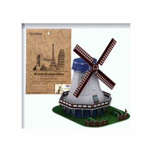 3D Puzzle ANELIXI Holland Windmill (6+) 2801A-I