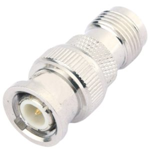 BNC Male to TNC Female RF Coaxial Adapter Connector