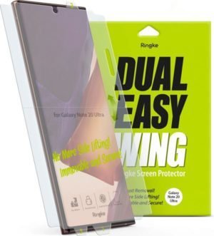 Ringke Dual Easy Wing Screen Protector για το Samsung Galaxy Note 20 Ultra (2 pack)