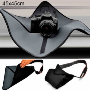 Shockproof Neoprene Bag Magic Wrap Blanket for Canon / Nikon / Sony Camera Lens, Size: 45 x 45cm