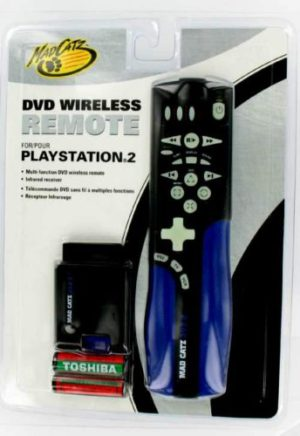 Mad Catz Wireless DVD Remote for Playstation 2