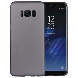 For Galaxy S8 + / G955 Ultra-thin Frosted PP Protective Back Cover Case(Black)