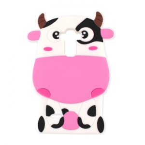 SPD TPU COW SAMSUNG S6 pink backcover