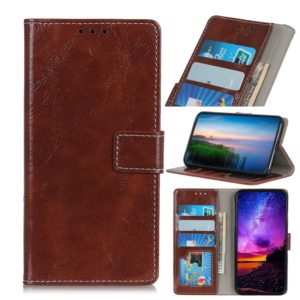 Retro Crazy Horse Texture Horizontal Flip Leather Case for Xiaomi Redmi 7A, with Holder & Card Slots & Photo Frame & Wallet(Brown)