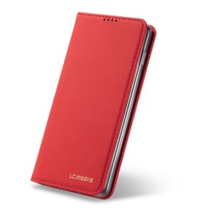 For Galaxy S10e LC.IMEEKE LC-002 Series Skin Hand Feeling PU + TPU Horizontal Flip Leather Case with Holder & Card Slot & Wallet(Red) (LC.IMEEKE)