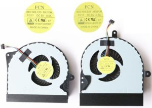 Ανεμιστηράκι Laptop - CPU Cooling Fan ASUS G751 G751J G751M G751JT G751JY G751JL G751JM LEFT+RIGHT DFS561405PL0T DFS501105PR0T (Κωδ. 80460)
