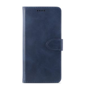 Calf Texture Horizontal Flip Leather Case for ASUS ZenFone 5 (ZE620KL)/ZenFone 5Z (ZS620KL), with Holder & Card Slots & Wallet(Blue)