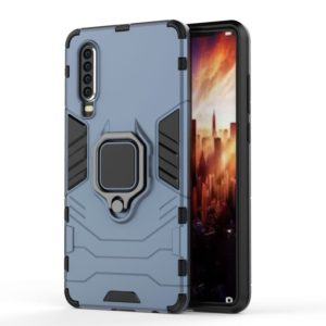 PC + TPU Shockproof Protective Case for Huawei P30, with Magnetic Ring Holder