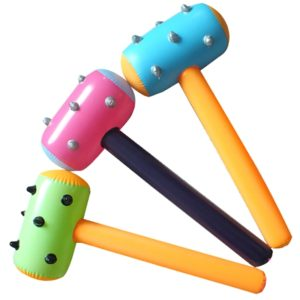 PVC Inflatable Children s Toy Colorful Mace, Random Color Delivery