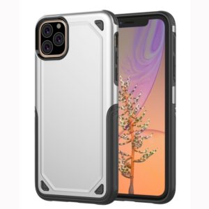 Shockproof Rugged Armor Protective Case for iPhone 11 Pro Max(Silver)