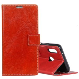 Retro Crazy Horse Texture Horizontal Flip Leather Case for Huawei Nova 3i / P Smart Plus, with Holder & Card Slots & Wallet & Photo Frame(Red)