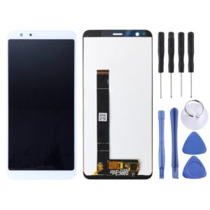 LCD Screen and Digitizer Full Assembly for Asus Zenfone Max Plus (M1) X018DC X018D ZB570TL(White)