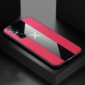 For Vivo S1 Pro XINLI Stitching Cloth Texture Shockproof TPU Protective Case(Red) (XINLI)