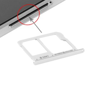 SIM Card Tray and Micro SD Card Tray for A3(2016) / A3100 & A5(2016) / A5100 & A7(2016) / A7100(Silver)