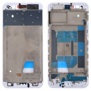 Front Housing LCD Frame Bezel Plate for OPPO R11(White)