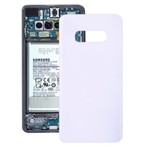 Battery Back Cover for Galaxy S10e SM-G970F/DS, SM-G970U, SM-G970W(White)