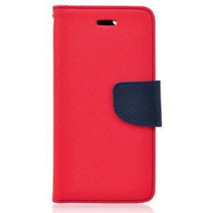 BookStyle Fancy Case Red-Blue for Samsung Galaxy Note 8