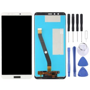 LCD Screen and Digitizer Full Assembly for Huawei Enjoy 8 Plus / Y9 (2018)(White)