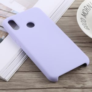 Dropproof Silica Gel + PC Protective Case for Huawei P20 Lite(Light Purple)