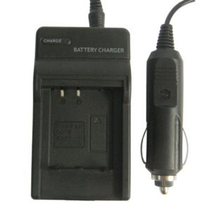 Digital Camera Battery Charger for Panasonic 007E(Black)