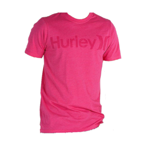 T-SHIRT ΑΝΔΡΙΚΟ HURLEY ONE AND ONLY FUCHSIA