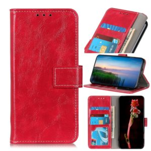 For OPPO Reno Ace Retro Crazy Horse Texture Horizontal Flip Leather Case with Holder & Card Slots & Photo Frame & Wallet(Brown)