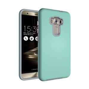 For Asus ZenFone 3 ZE552KL Ball Texture Anti-slip PC + TPU Protective Back Cover Case(Green)