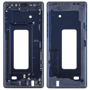 Front Housing LCD Frame Bezel for Galaxy Note9(Blue)