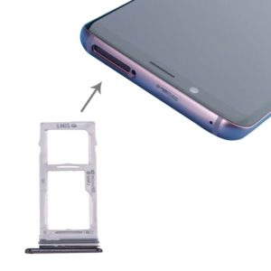 SIM & SIM / Micro SD Card Tray for Galaxy S9+ / S9(Grey)