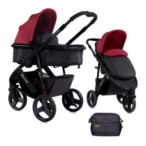 Καρότσι Lorelli Calibra 2 in 1 Black Red