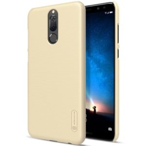 NILLKIN for Huawei Maimang 6 Concave-convex Texture PC Protective Back Cover Case (Gold) (NILLKIN)