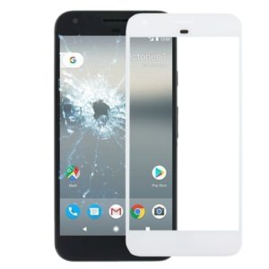 Front Screen Outer Glass Lens for Google Pixel XL(White)