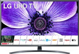 LG 55UN74003LB, 55-Inch LED Smart TV, 3840x2160, 16:9, HDR, LAN, WiFi+BT, USB, HDMI